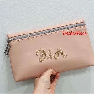 Dior Pouch Clutch Cosmetic Bag Organizer Purse NEW
